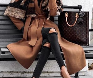 blogger, street style, and lv bag image