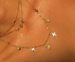 necklace, jewelry, and glitter image