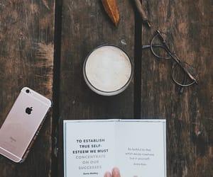 books, coffee, and mood image