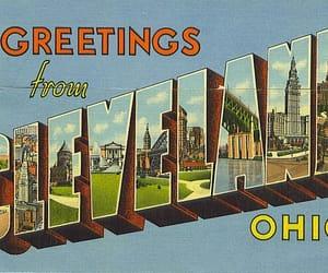 cleveland, ohio, and postcard image