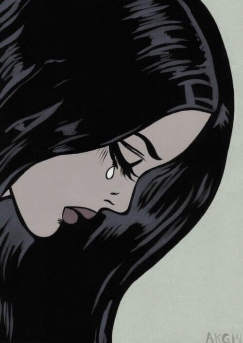 about me, sad, and sad girl image