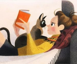cats, lectura, and felinos image