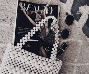 magazine, sunglasses, and accessories image