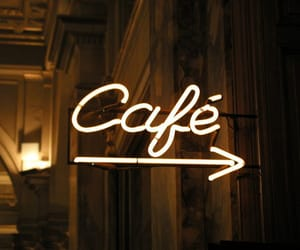 cafe and neon image