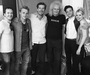 Queen, bohemian rhapsody, and brian may image
