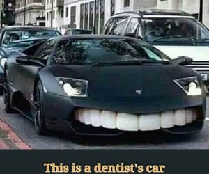 art, dentists, and car image