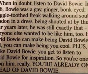 david bowie and inspiration image