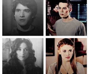 allison, scott, and stiles image