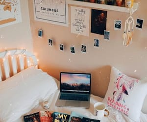 bedroom, cosy, and decor image