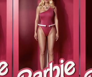barbie, beautiful, and model image