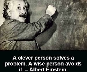 Albert Einstein, clever, and relatable image