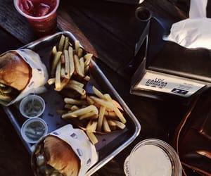 lunch, burguer, and hamburguêr image
