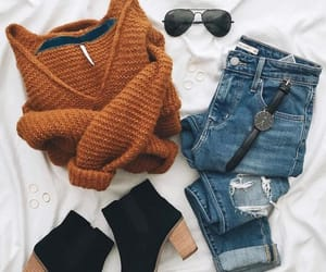 fashion, looks, and sweaters image