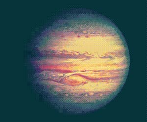 gif, jupiter, and planet image