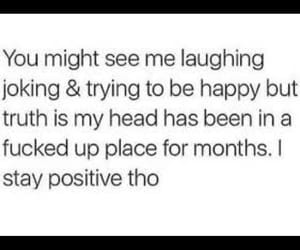 sad, positivity, and truth image