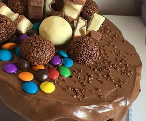 cake, cakes, and chocolate image