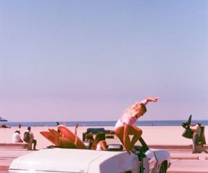 vintage, beach, and aesthetic image