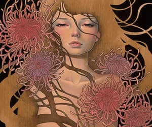 art, audrey kawasaki, and Ilustration image