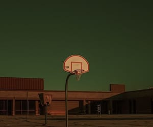 Basketball, blue, and green image