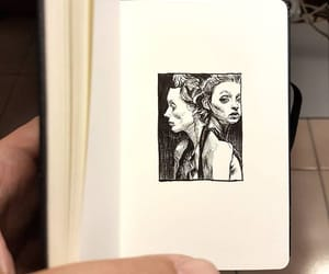 crosshatching, drawing, and human image