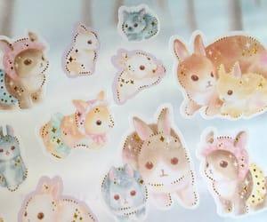 i love rabbit, rabbit sticker, and rabbit planner image