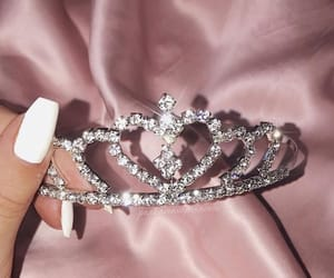 designer, nails, and princess image