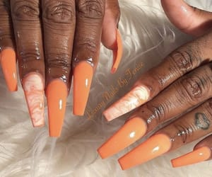 nails, frenchtips, and frenchnails image