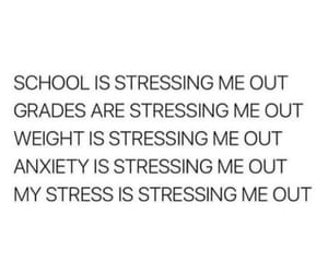anxiety, grades, and life image