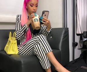 cardi b and outfit image
