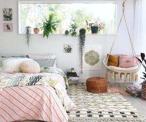 bedroom, room, and dorm image