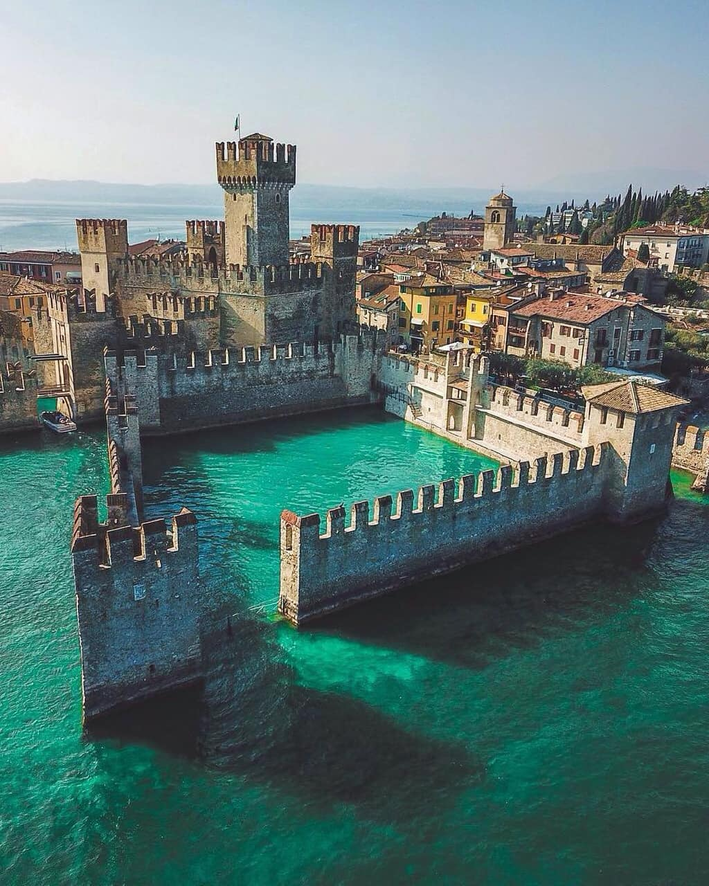travel, castle, and italy image