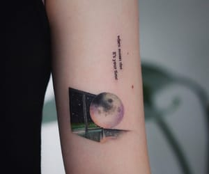 tattoo, moonchild, and rm image