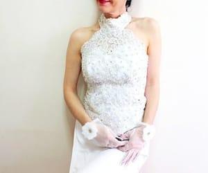 etsy, gift for her, and boho wedding dress image