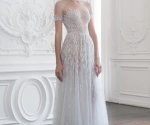dress, haute couture, and paolo sebastian image