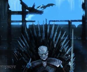 jon snow, night king, and daenerys targaryen image