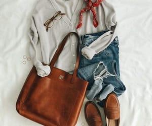 bag, beautiful, and casual image