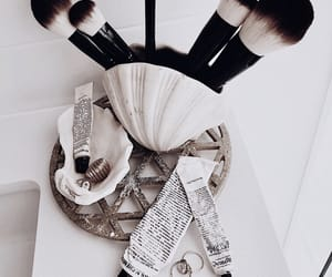 Brushes, details, and jewelry image