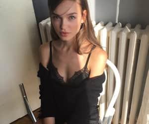 beautiful, valeria rudenko, and dark hair image