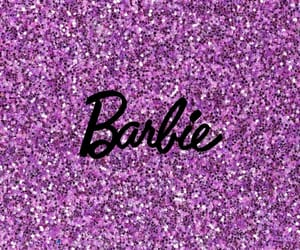 background, barbie, and glitter image