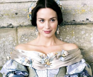 Emily Blunt and the young victoria image