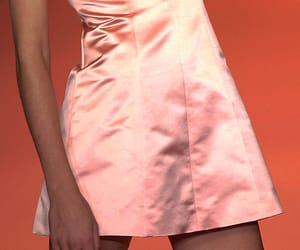 baby pink, pink, and pretty dress image