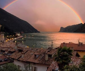 rainbow, nature, and travel image