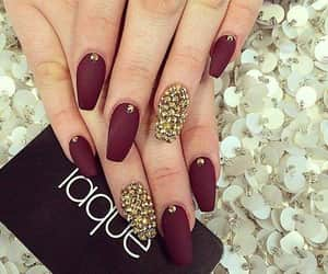 manicure, polishnails, and nails image
