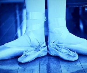ballet shoes, blue, and ballet photography image