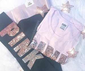clothes, pink, and shirts image