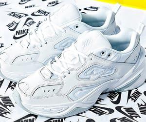 nike, buty, and białe image