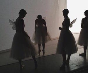aesthetic, shadow, and ballet image