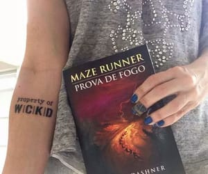 tattoo, tmr, and maze runner image