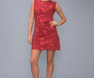 etsy, minidress, and red dress image