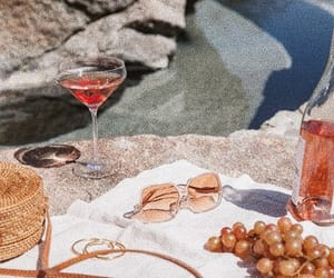 drink, fancy, and picnic image